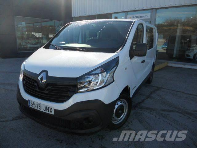 used renault trafic passenger edition energy dci 125 tt e6 panel vans year 2016 price 19 576. Black Bedroom Furniture Sets. Home Design Ideas