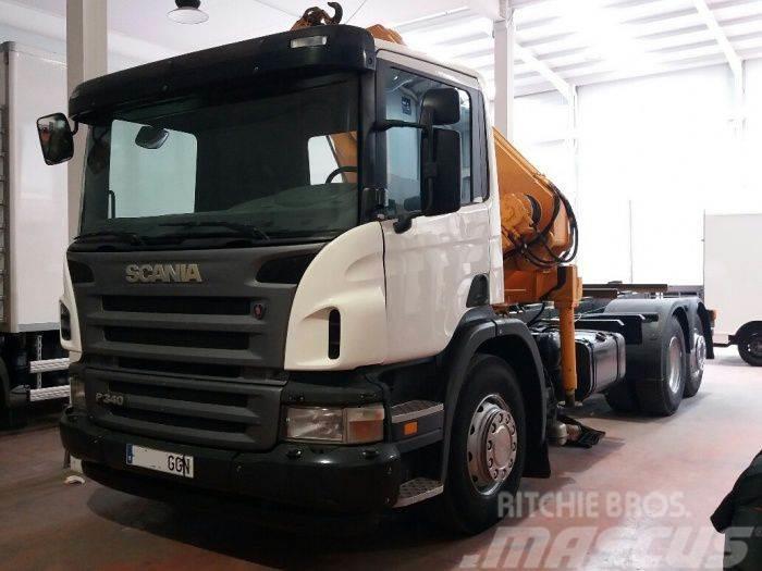 Scania – P340 LB 6X2 GRUA
