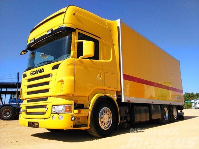 Scania R500 6x2 CAJA CERRADA