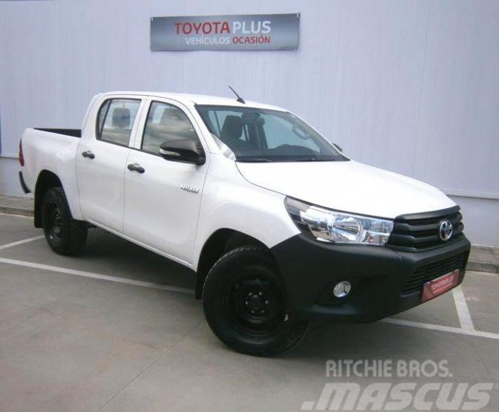 Toyota Hilux 2017 >> Toyota Hilux Cab Doble 2 4 D 4d 150 Gx 4p S S