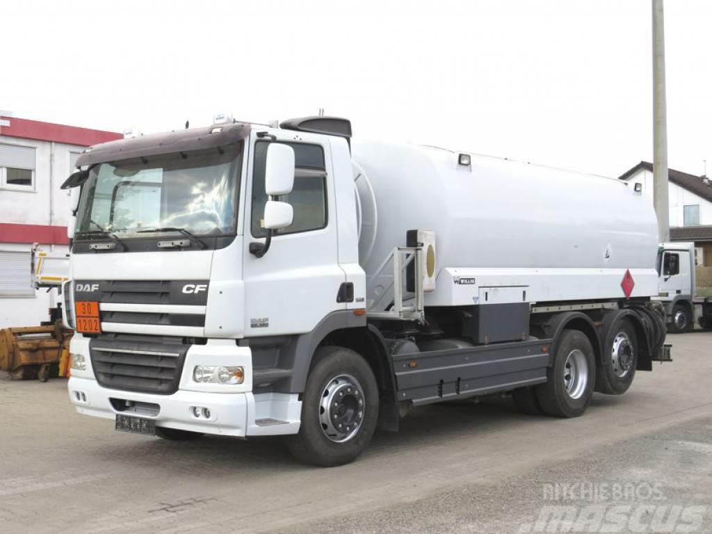DAF CF 85.360 Willig Untenbef. Tankwagen