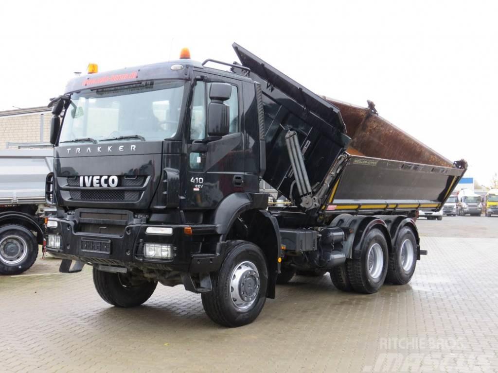 Iveco 260T41W Schalter deutsch 3-Achs Allradkipper