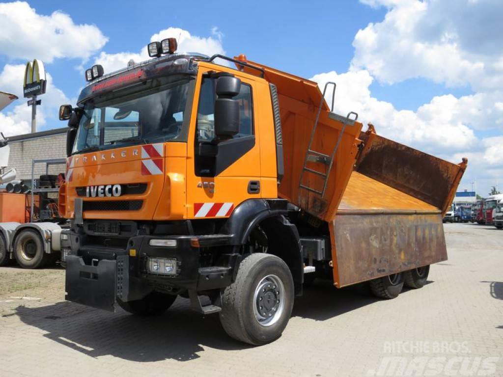 Iveco TRACKER 260T45 6x6 Winterdienst 3-Achs Allradkipp