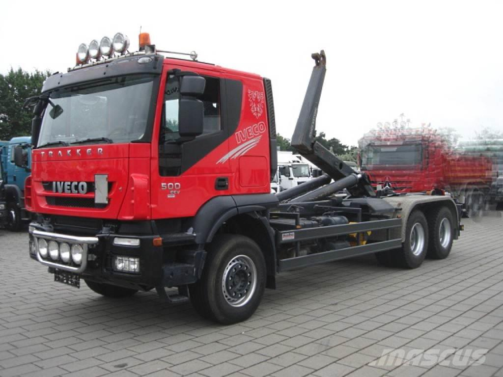 Iveco TRACKER AT260T50 6x4 Meiller Abrollkipper