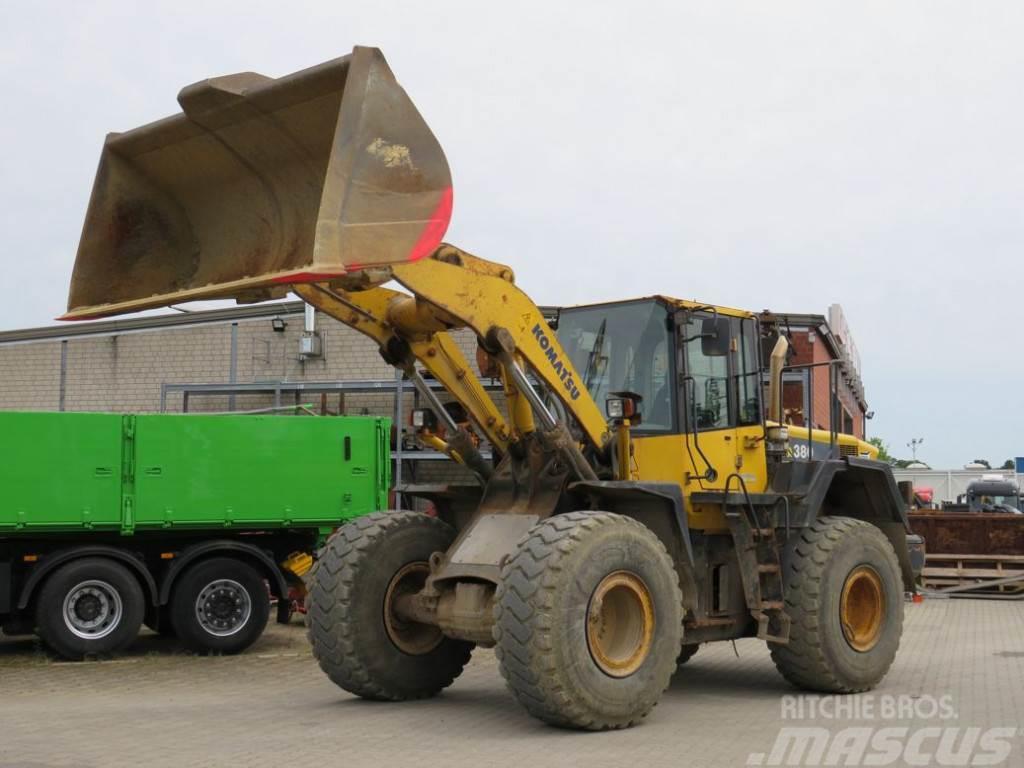 Komatsu HANOMAG Radlader WA 380-6 Deutsch 8.400h Radlader