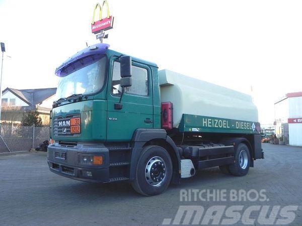 MAN 19.314 (E2) Tankwagen A3 Diesel+Heizöl, Esterer Ta