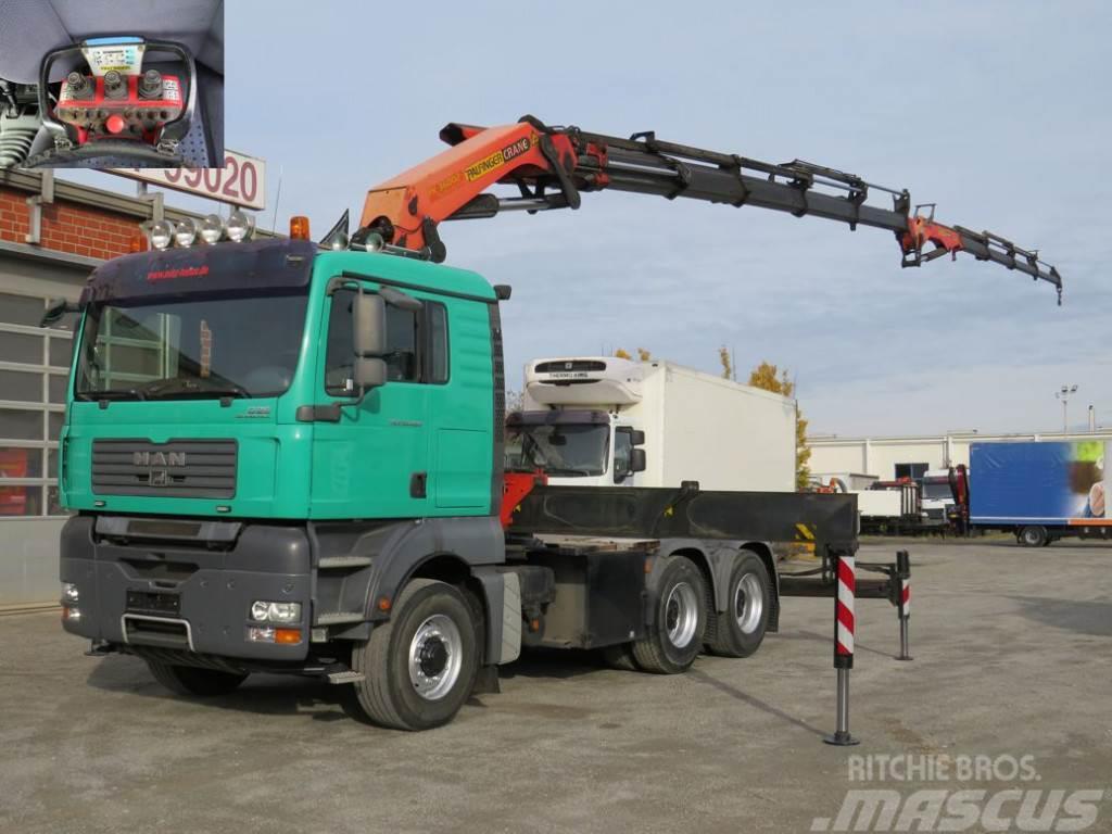 MAN TG-A 33.480 6x6H BBS Palf. PK 36002+Jib SZM / Kran