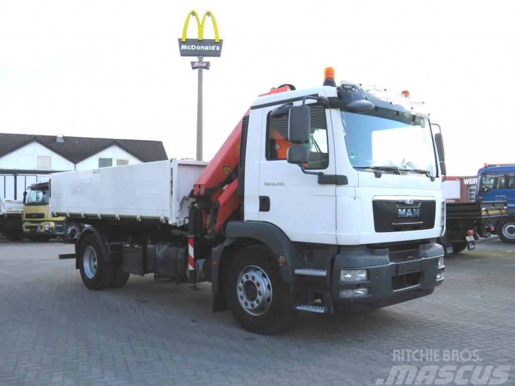 MAN TG-M 18.290 K 4x2 2-Achs Kipper Kran
