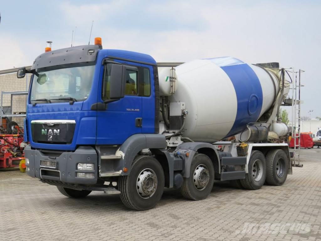 MAN TG-S 35.400 8x4 BB 35to Chassis Betonmischer
