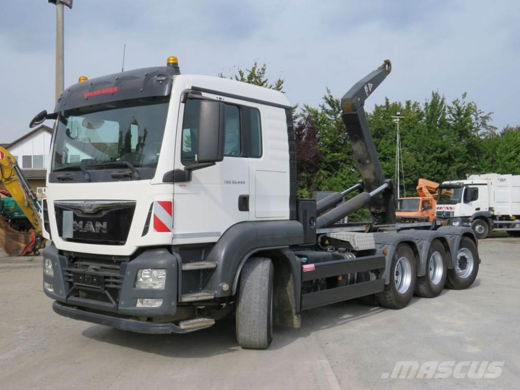 MAN TG-S 35.440 8x4-4 BL hydr. Cont.-Verr. Abrollkippe