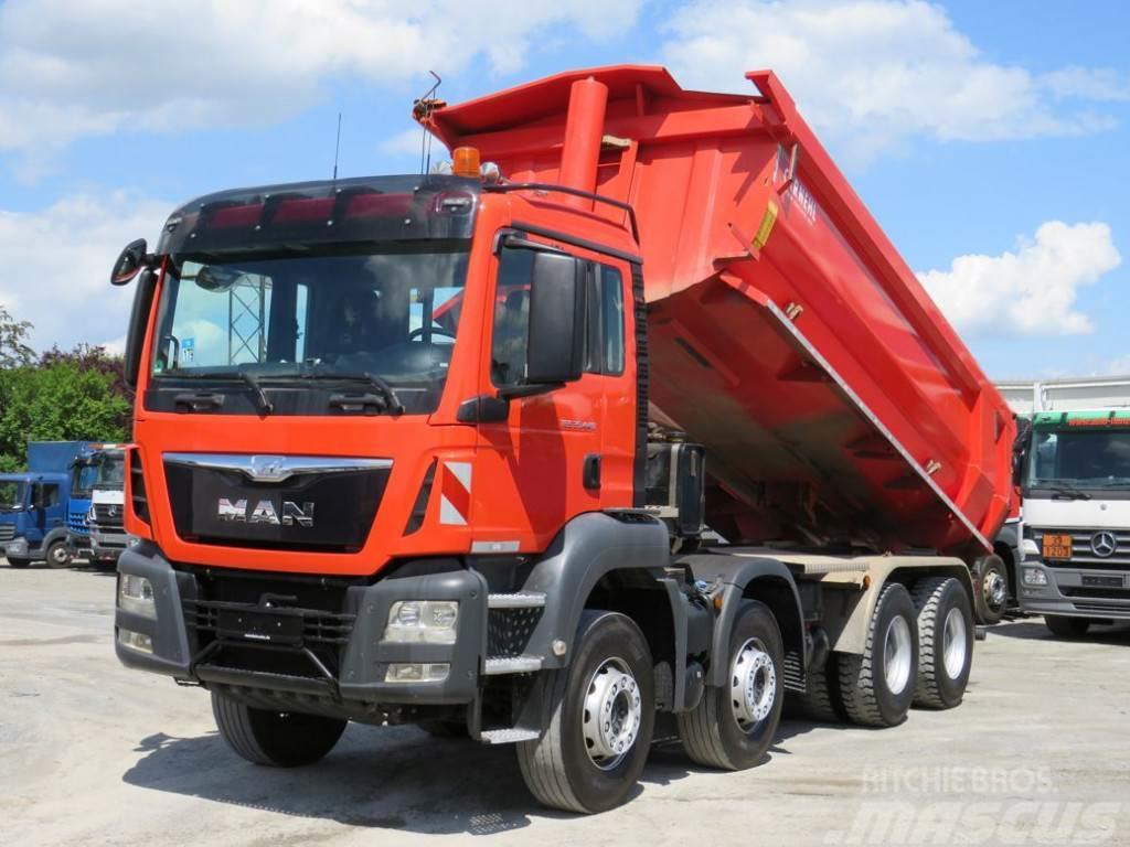 MAN TG-S 35.440 8x4 BB Carnehl 4 Achs Muldenkipper