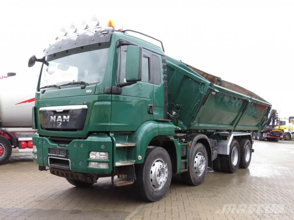 MAN TG-S 35.480 8x4 BB Euro5 4-Achs Kipper