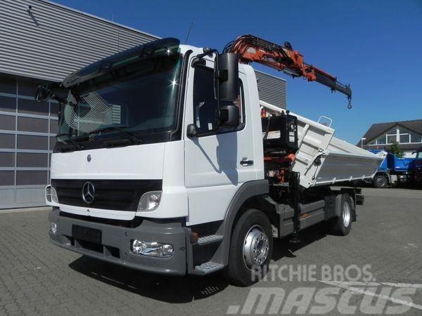 Mercedes-Benz 1224 (E4) 4x2 Kipper Meiller+Kran Atlas 75.2 Drei-