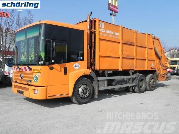 Mercedes-Benz 2628 Econic (E3+G1) Müllwagen Schörling 21,9 m³ Mü