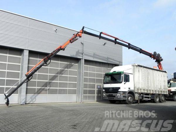 Mercedes-Benz 2636 6x2 + Kran+Flyjib Arbeitshöhe ca 25m Funk Bau