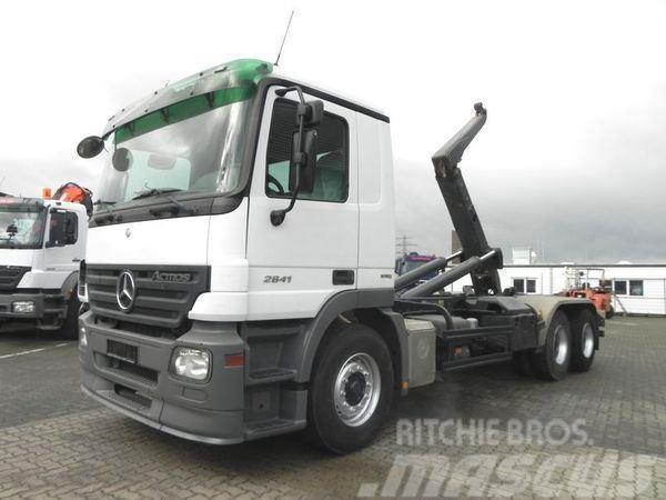 Mercedes-Benz 2641 (E4) 6x4 Abrollkipper Meiller RK 20.70 Abroll