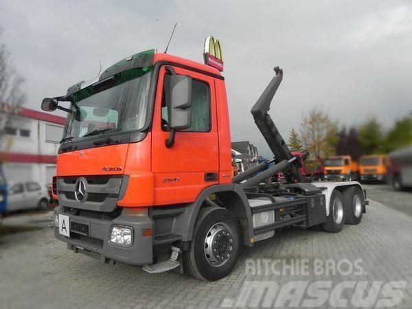 Mercedes-Benz 2641 (E5) 6x4 MPIII Abrollkipper Meiller Abroll K