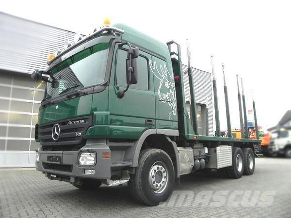 Mercedes-Benz 2651 (E5) 6x4 Full spring, V8 engine, Pritsche off