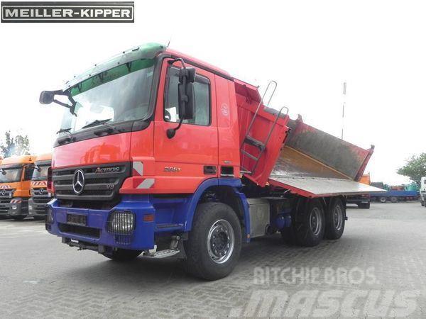 Mercedes-Benz 2651K 6x4 V8, Meiller+Bordmatik links, nur 203TKM.