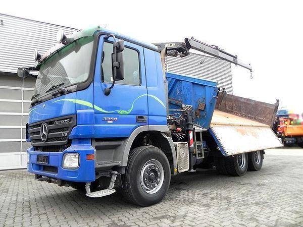 Mercedes-Benz 3350 (V8 engine) K 6x4 Kipper/Bordmatik+Kran Drei-