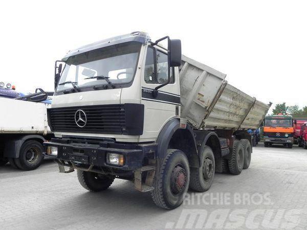 Mercedes-Benz 3535 V8 8x6 Kipper org.aus Deutschland kein Reimpo