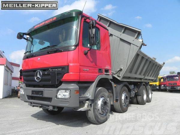 Mercedes-Benz 4141 (E5) 8x4 Kipper Meiller Drei-Seiten Kipper