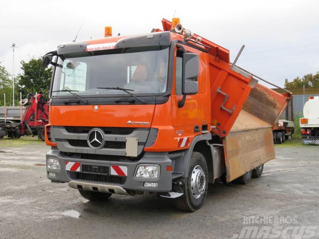 Mercedes-Benz Actros 2644 6x4 Meiller Bordmatik 3-Achs Kipper