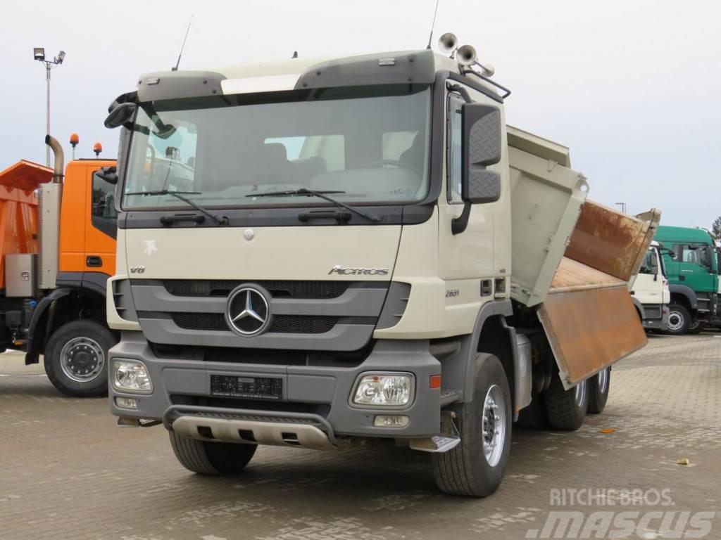 Mercedes-Benz Actros 2651 K 6x4 Meiller Bordmatik 3-Achs Kipper