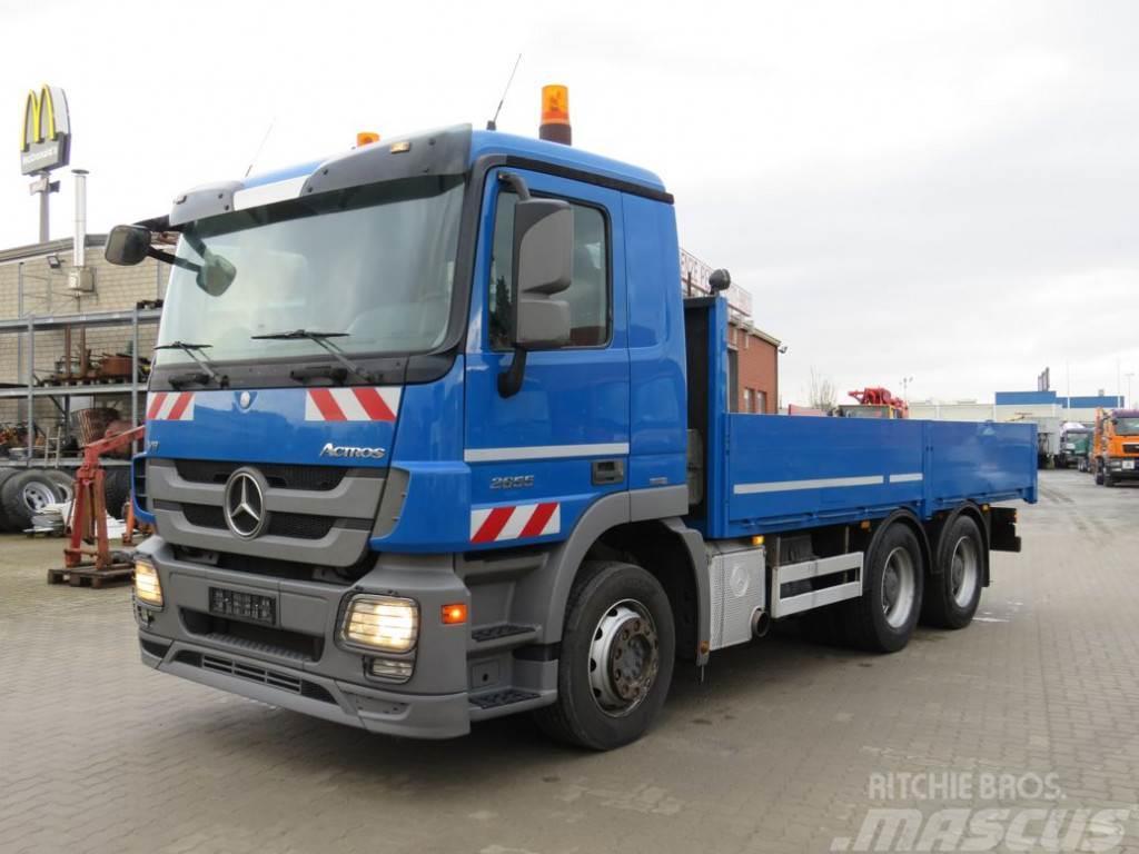 Mercedes-Benz Actros 2655 L 6x4 V8 engine, Blatt/Luftfed. Pritsc