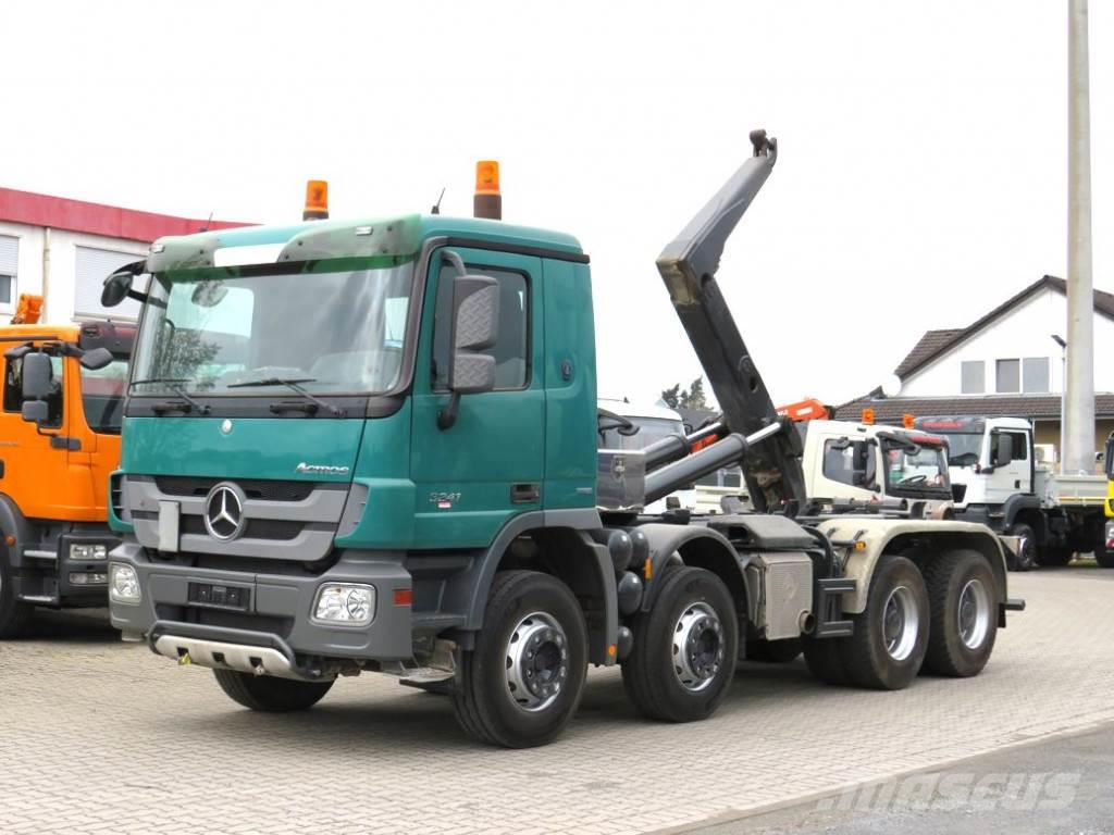 Mercedes-Benz Actros 3241 K 8x4 Meiller 30to Abrollkipper