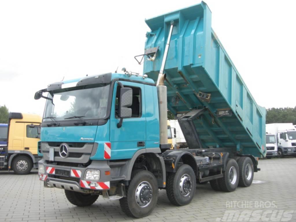 Mercedes-Benz Actros 4141 8x6 Meiller 17m³ 4 Achs Muldenkipper