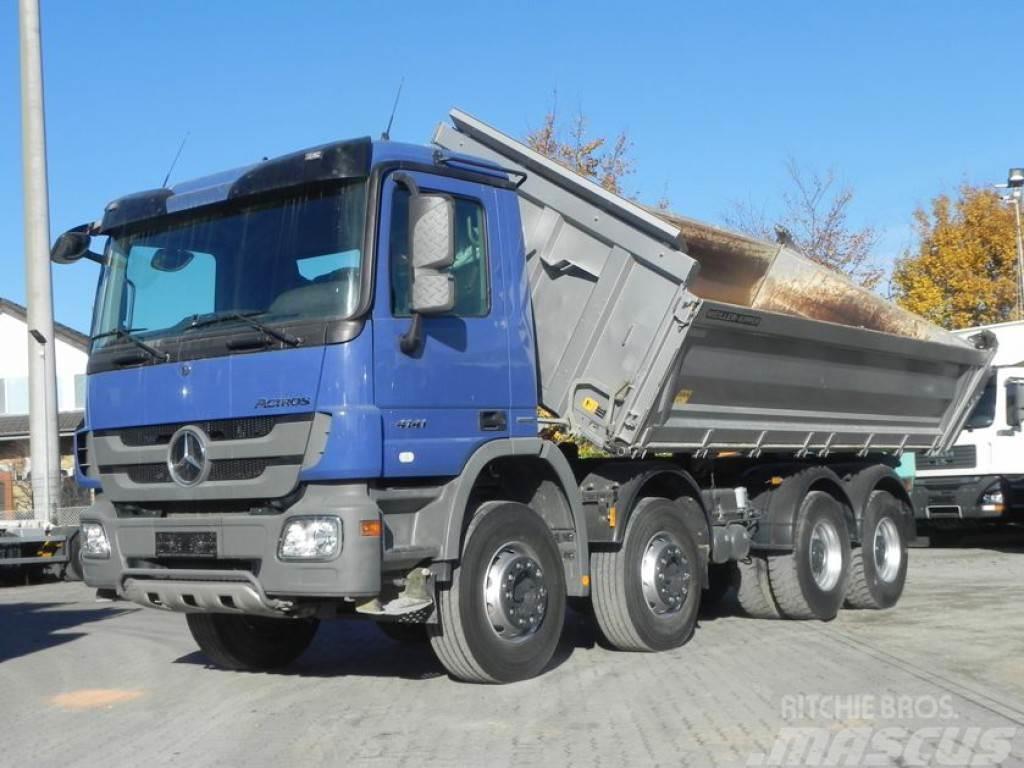Mercedes-Benz Actros 4141 K 8x4 Meiller 4-Achs Kipper