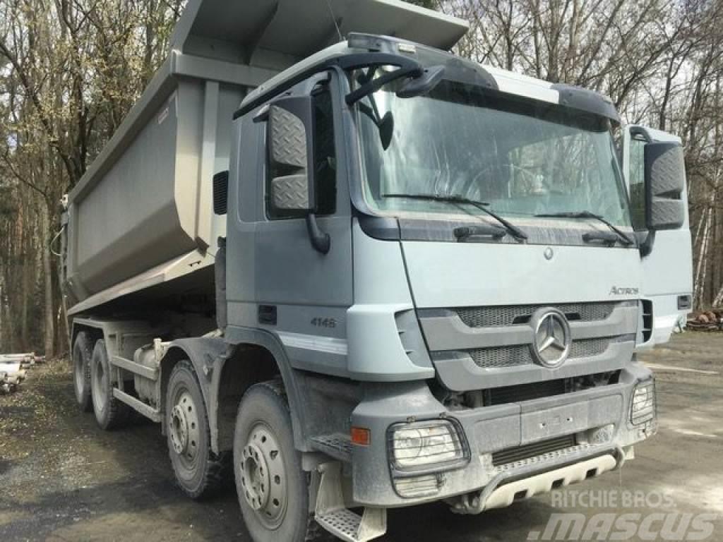 Mercedes-Benz Actros 4146 8x4 Fg: L951846 4 Achs Muldenkipper
