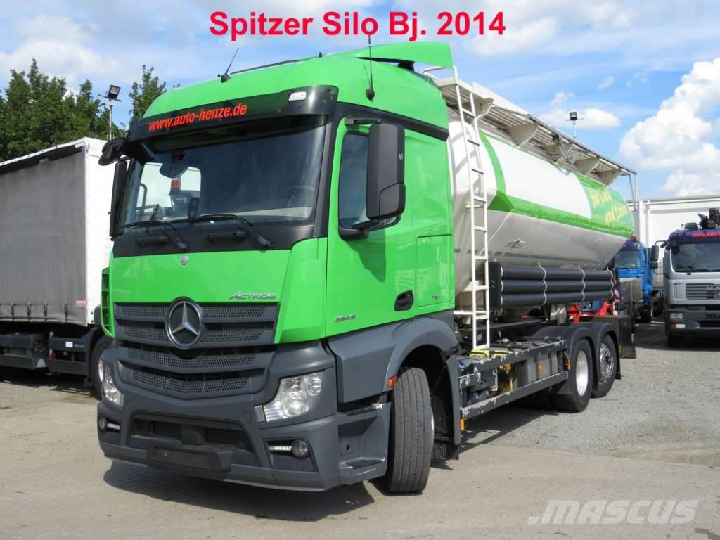 Mercedes-Benz Actros neu 2545 L 6x2 4 Kammern/31.000 ltr Silo