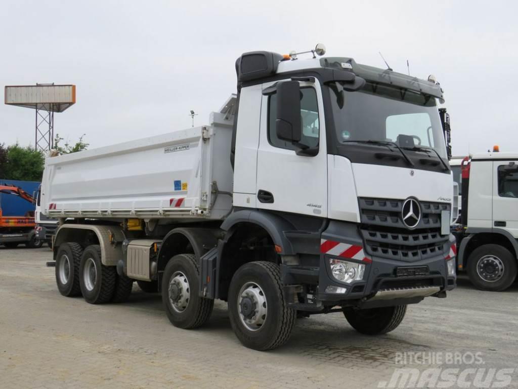 Mercedes-Benz Arocs 4145 8x8 Bordmatik deutsch 4-Achs Kipper