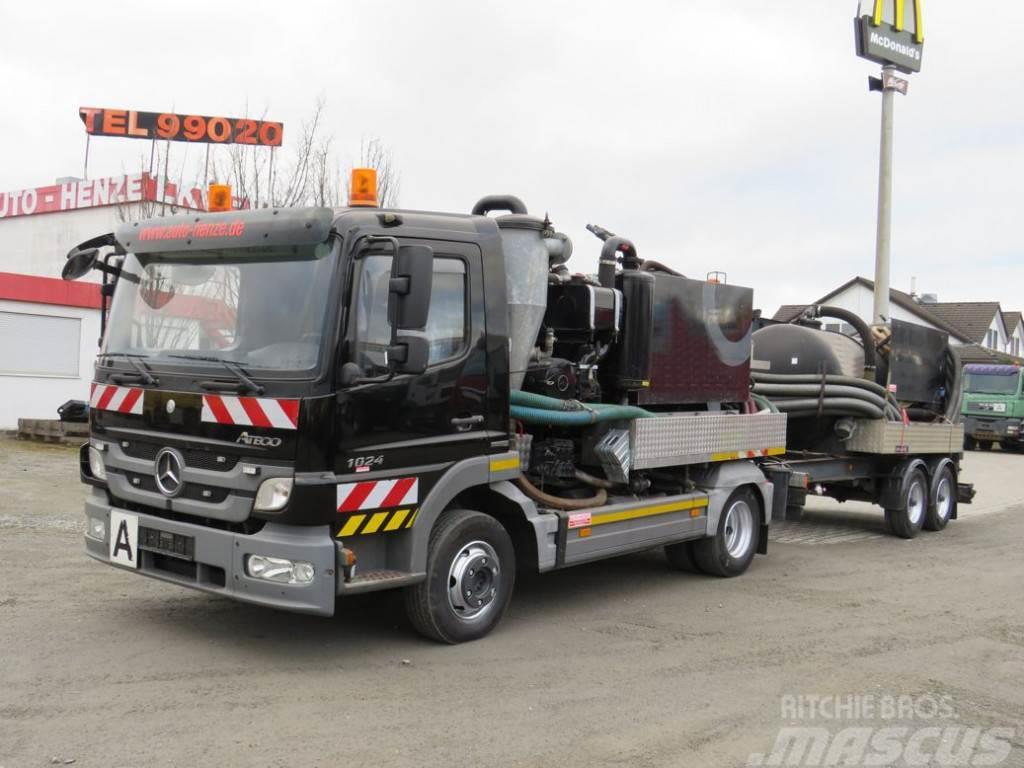 Mercedes-Benz Atego 1024 K Saug+Spülwagen Saug + Spülwagen