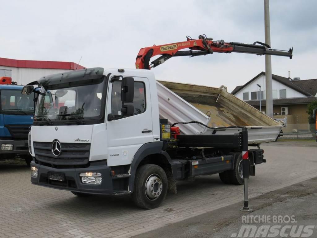 Mercedes-Benz Atego 1223 K Palf. PK 8501 2-Achs Kipper Kran