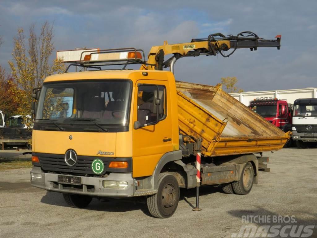 Mercedes-Benz Atego 815 K 2-Achs Kipper Kran