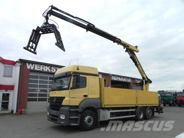 Mercedes-Benz Axor II 2540 L (Euro5+G1) Pritsche 6.5m+Kran 20m/t