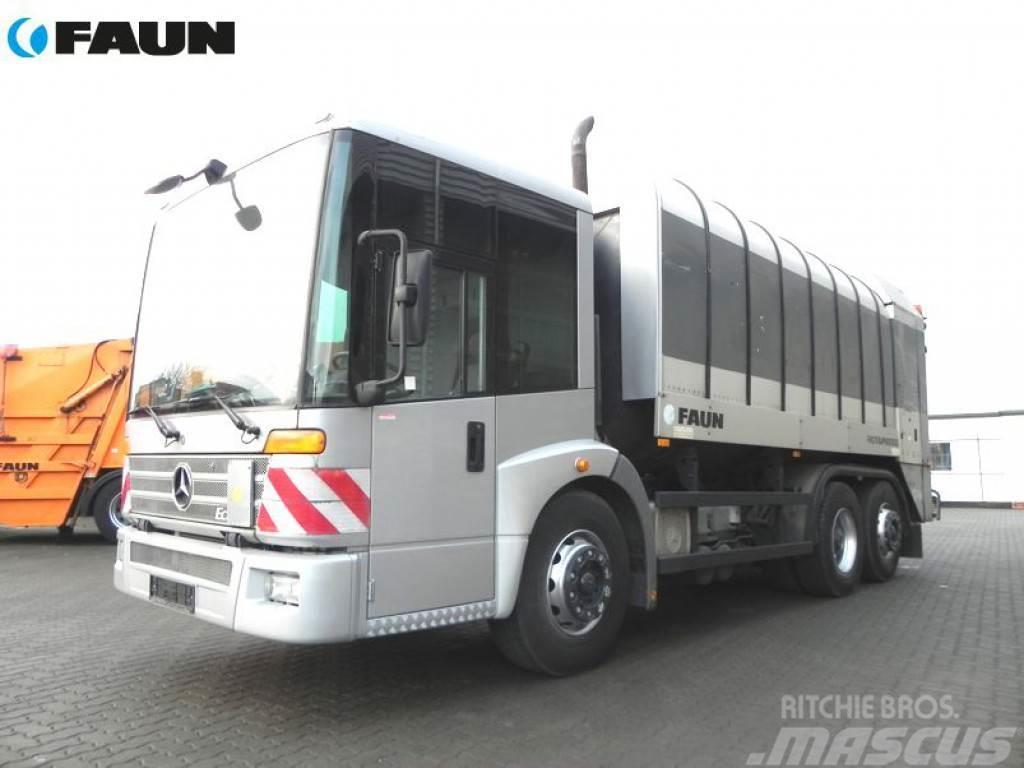 Mercedes-Benz ECONIC 2628 6x2 Zoeller Schüttung Müllwagen