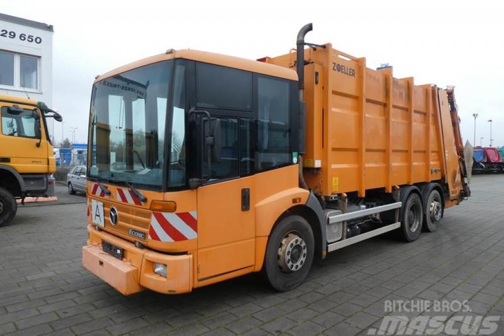 Mercedes-Benz Econic 2628 6x2 Zoeller Medium XXL 22 Müllwagen