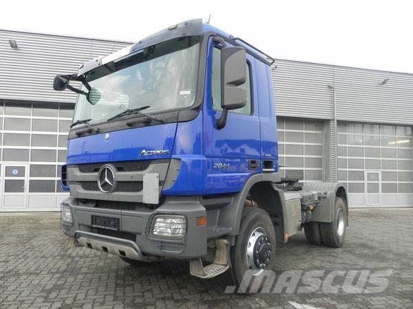 Mercedes-Benz MPIII 2044 (E5) 4x4 Allrad-SZM+Kipphydraulik, full