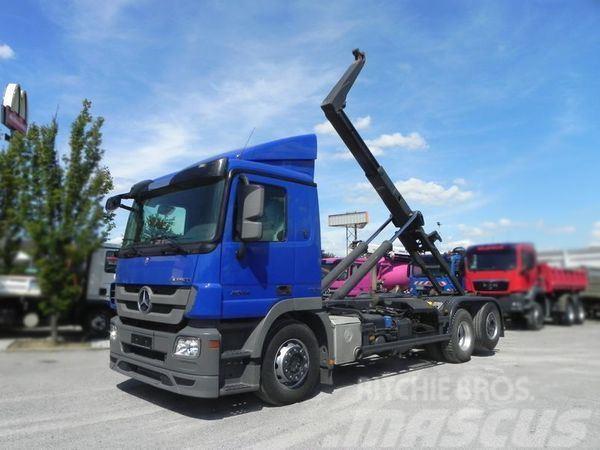 Mercedes-Benz MPIII 2544 (E5+EEV) 6x2 Abrollkipper Meiller, Lift