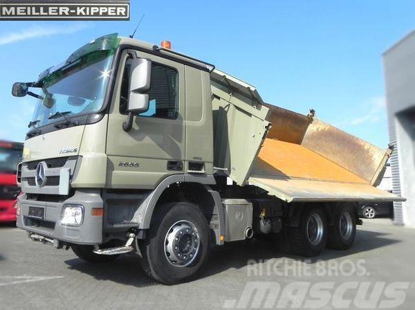 Mercedes-Benz MPIII 2655 (E5) V8 6x4 Kipper Meiller+Bordmatik Dr