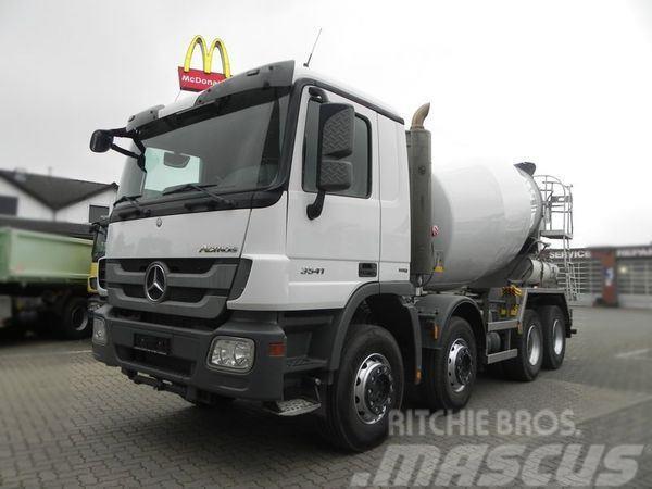 Mercedes-Benz MPIII 3241 (E5) 8x4 Betonmischer 9 m³ Betonmischer