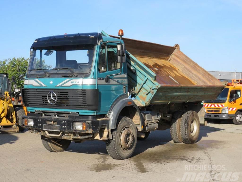 Mercedes-Benz SK 1824 AK 4x4 Meiller 2-Achs Allradkipper
