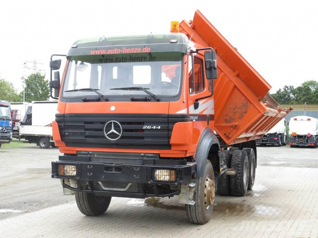 Mercedes-Benz SK 2644 AK 6x6 Deutsch 1 Hand 3-Achs Allradkipper