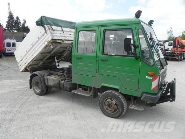 used multicar m26 e2 4x4 doppelkabine allradkipper komunalhydr dump trucks year 2001 price. Black Bedroom Furniture Sets. Home Design Ideas