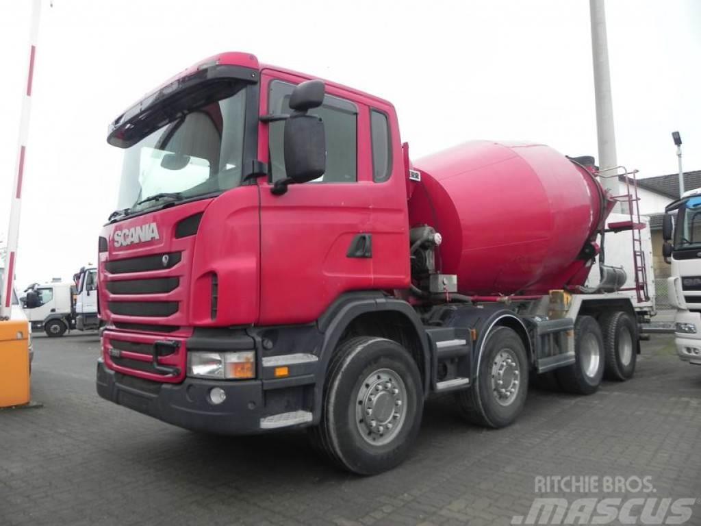 Scania G 380 8x4 Betonmischer