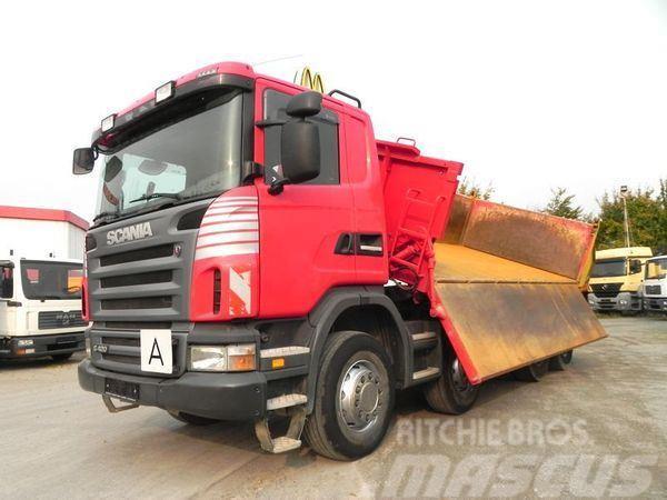 Scania G420 (E4) 8x4 Kipper Dautel+Bordmatik Drei-Seiten